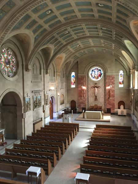 View of the Seminary chapel