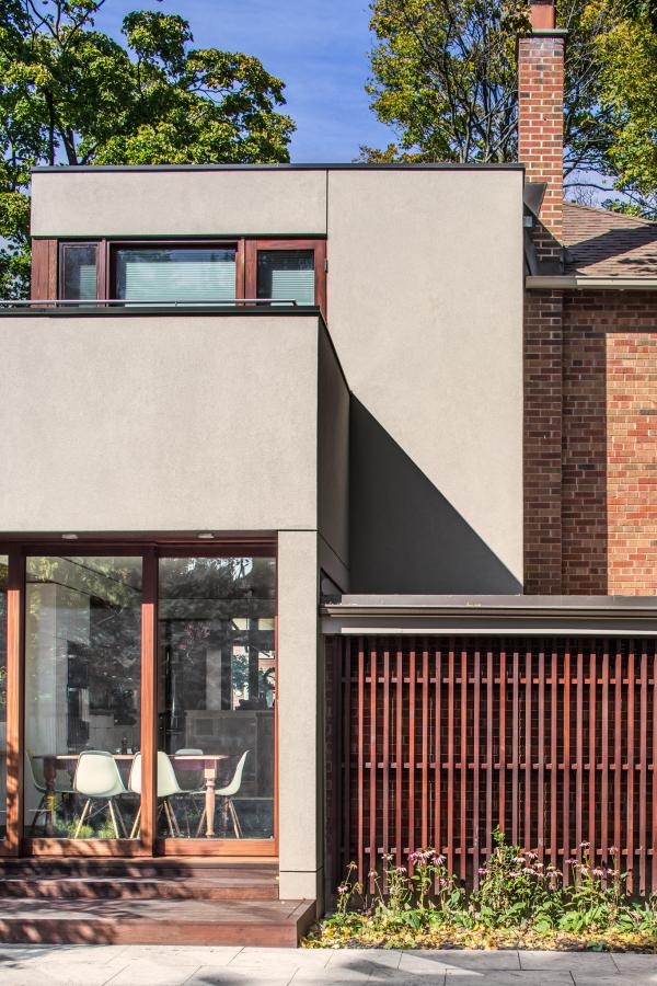 The rear addition (photo: Steven Evans Photography)