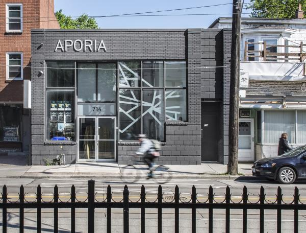 View of the building on Gerrard Street (photo: Steven Evans Photography)