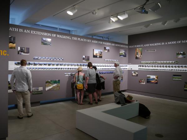 Visitors to the exhibition (photo: Steven Evans Photography)