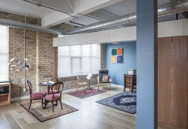 View of the living room extension (photo: Steven Evans Photography)