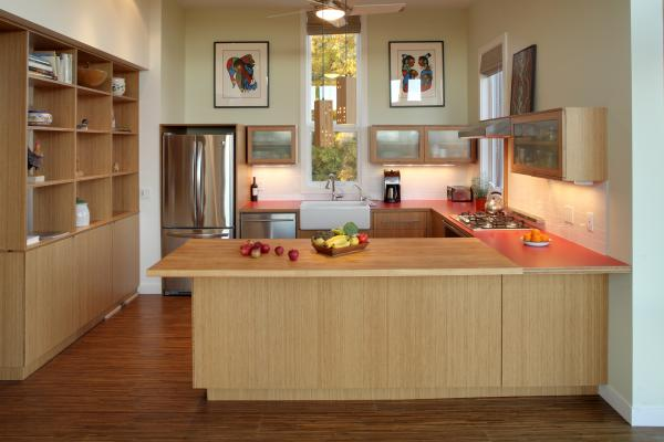 View of the Kitchen (photo: Peter Legris Photography)