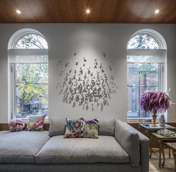 The arched windows (photo: Steven Evans Photography)