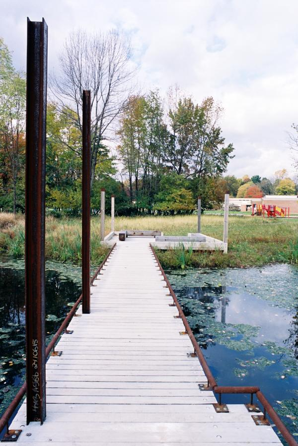 View of the classroom dock (photo: PLANT Architect Inc.)