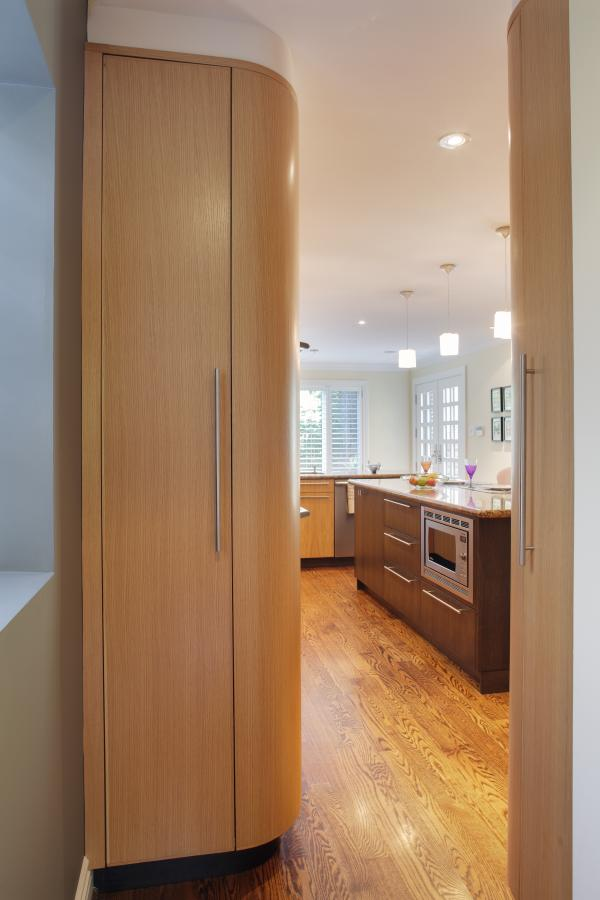 View of a kitchen cabinet (photo: Peter Legris Photography)