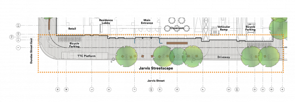Jarvis Streetscape Plan