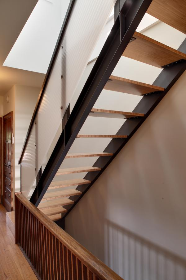 View of the stair (photo: Peter Legris Photography)