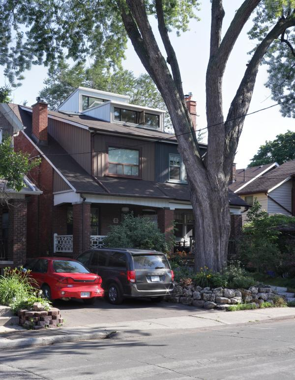 Double dormer addition to the street (photo: Peter Legris Photography)