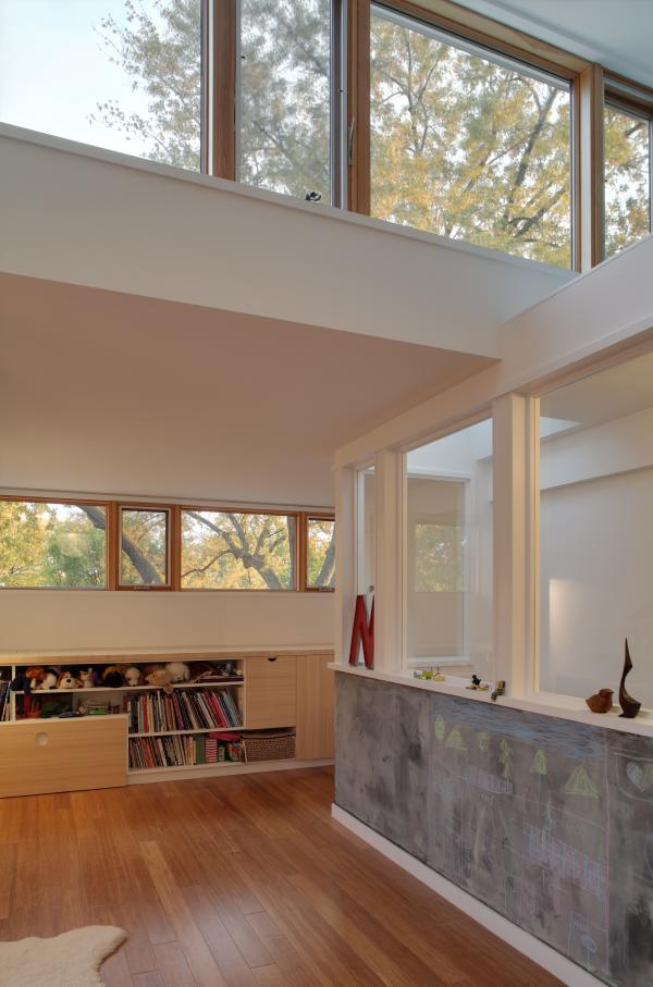 View of the upper windows (photo: Peter Legris Photography)