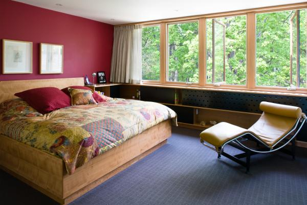 Master Bedroom (photo: Peter Legris Photography)